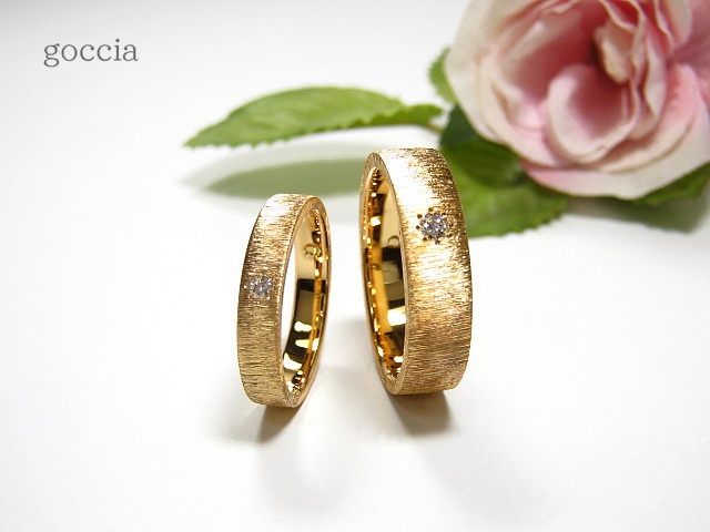 ダイヤ・結婚指輪・メンズ