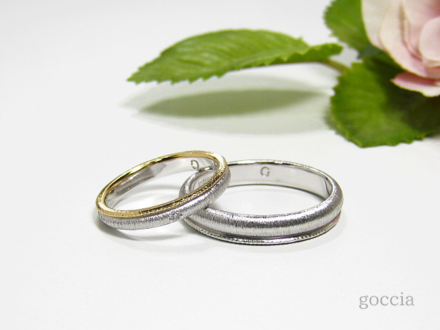 結婚指輪・ミルグレイン