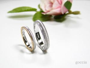 結婚指輪・重ね付け