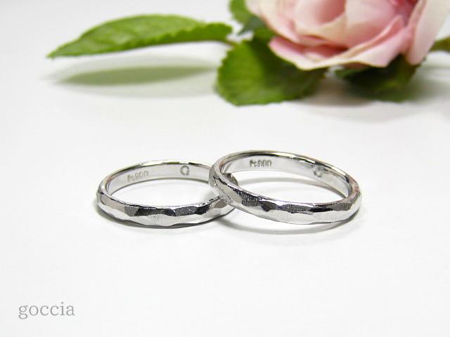 結婚指輪・プラチナ