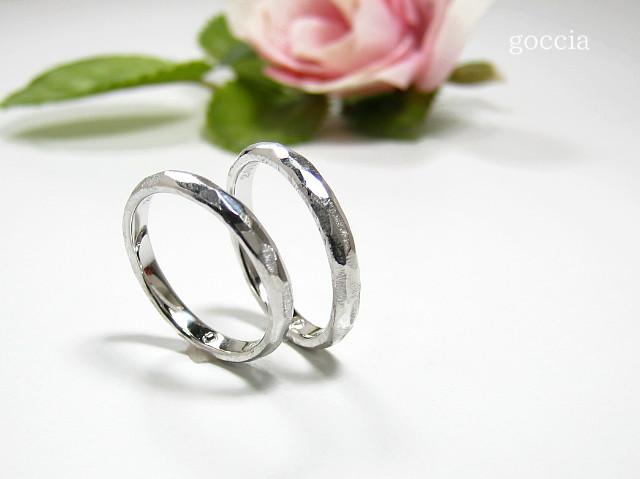 結婚指輪・個性的