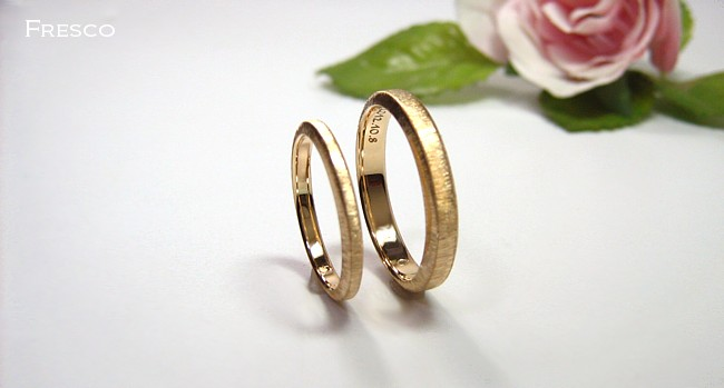 結婚指輪・細め