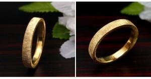 シルクサテン仕上げ・結婚指輪