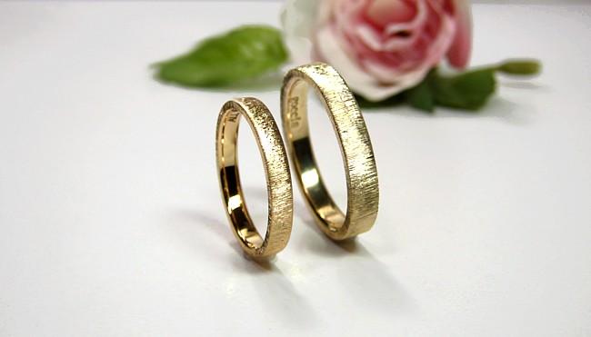 結婚指輪・シルクサテン