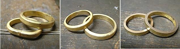 結婚指輪・手作り