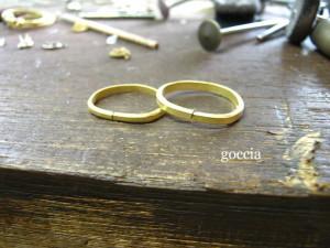 結婚指輪・華奢